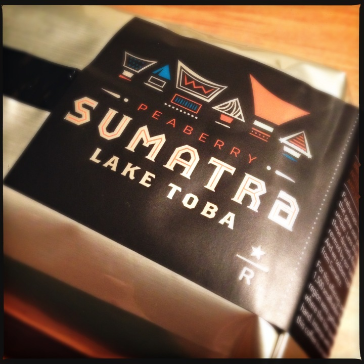 Coffee Fixes Everything?:  Starbucks Reserve® Sumatra Peaberry Lake Toba does