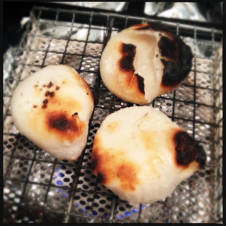 Yakimochi: Grilled Rice Cakes