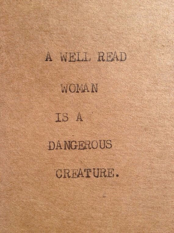 A Well Read Woman: and Well Traveled Women