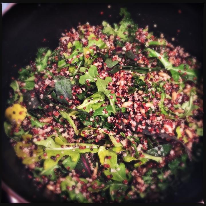 Guilt Free, Calorie Free (not quite but still): QuinoaSalad