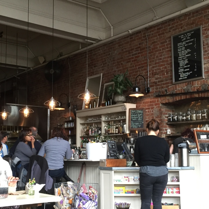 Not Too Odd (actually quite nice):  Oddfellows Cafe + Bar