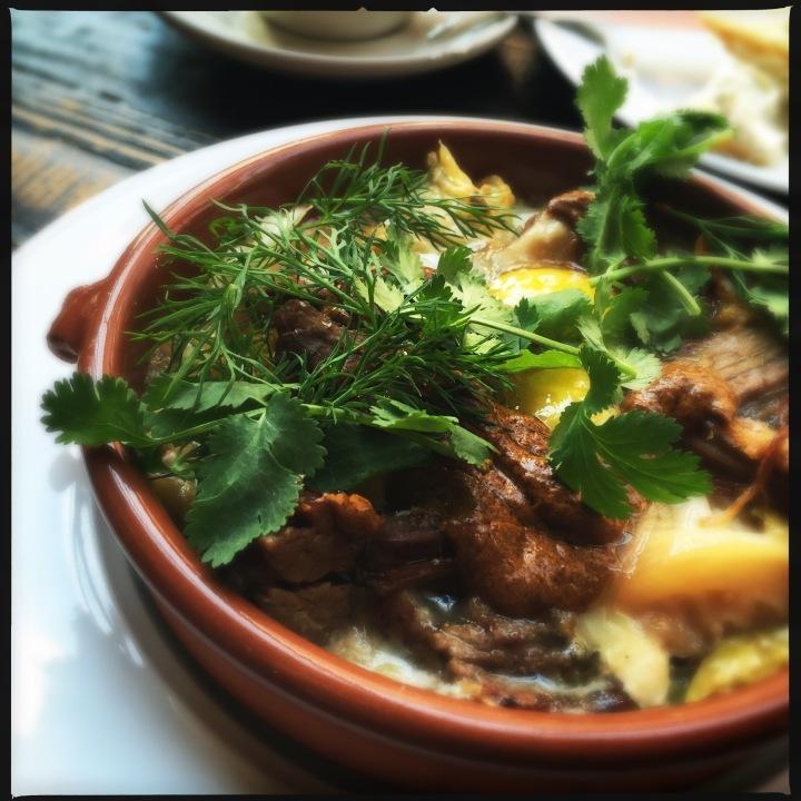 Happy Meal:  Sunday Brunch at Sitka &Spruce