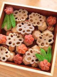 Good Luck Veggie: Renkon (Lotus Roots)
